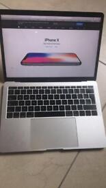 "Apple MacBook Pro 2017, 13"" 8GB 2 months warranty left. NORTHERN IRELAND"