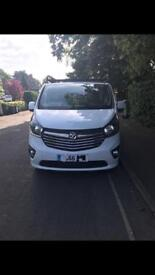66 plate Vauxhall Vivaro 120 biturbo long wheel base sportive no vat