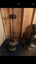 Weight lifting weights and bars