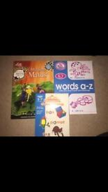 Maths & English work books