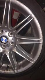 BMW GENUINE ALLOYS WITH TYRES 19""