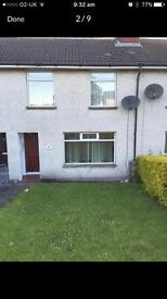 HOUSE DERRY CITY AVAILABLE £125
