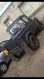 Landrover defender swb pickup (rare)
