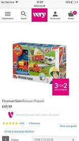 New! Fireman sam Rescue playset
