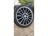 VW Golf R32 wheels