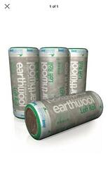Loft insulation knauf earthwool free delivery