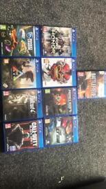 9 ps4 games
