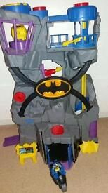 Large Fisher-Price Imaginext Batcave