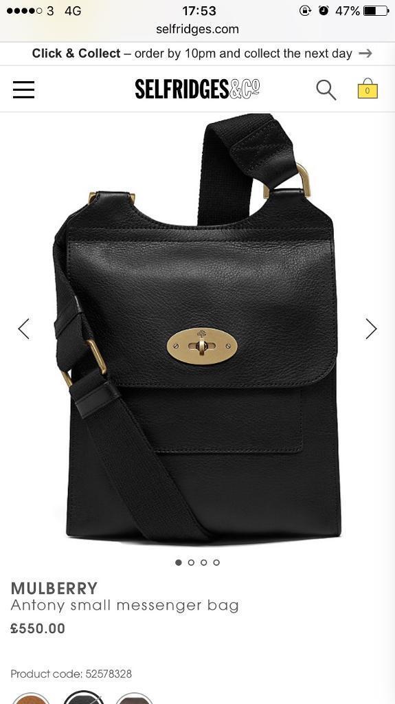 a1cacf4667e9 Mulberry bag!