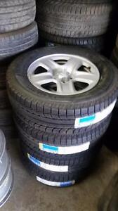 Brand New 245 65 17 Michelin Latitude XIce2 on BNew Toyota Venza 5 x 114.3 or Honda Pilot / Acura MDX 5 x 120 OEM rims