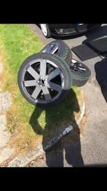 Audi TT v6 RONAL wheels