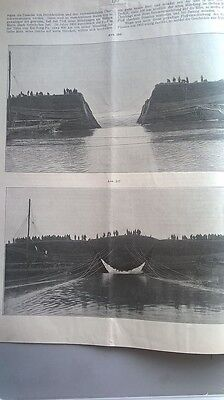 1907 9 China Hoang Ho Gelber Fuss Deichbauten