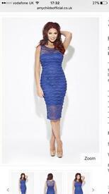 Size 8 blue dress