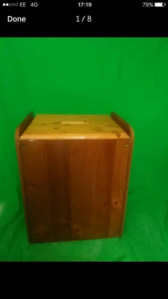 Pine storage box FREE DELIVERY PLYMOUTH AREA