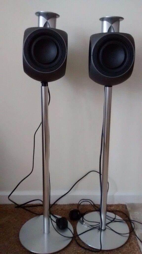 bang olufsen beolab 3 active stereo loudspeakers in. Black Bedroom Furniture Sets. Home Design Ideas