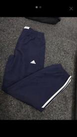 Adidas boys tracksuit bottoms age 11-12