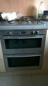 Electric oven, gas hob. VGC