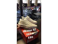 Nike air max 97 / Nike flyknits / adidas nmd