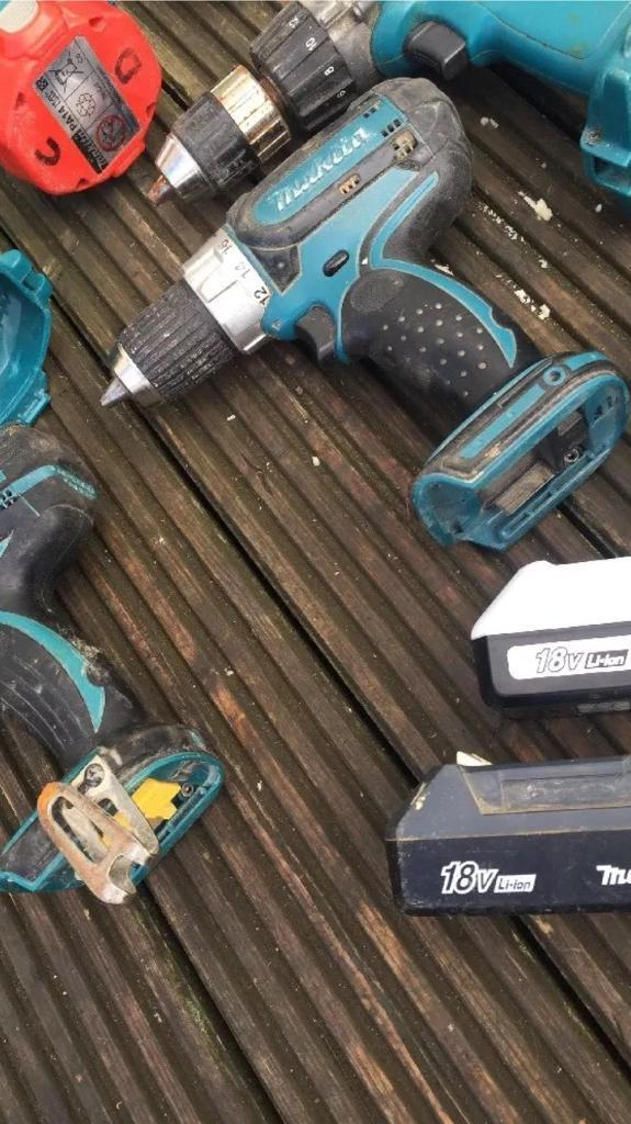 Makita tools Joblot