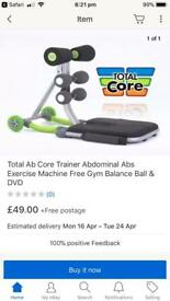 Ab core sit up machine