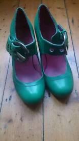Red or Dead ladies heels size 37 (4)