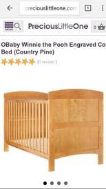 Winnie Pooh Cot Bed