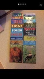 Job lot wildlife books