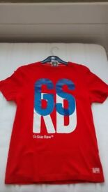 G-STAR RAW DENIM T-SHIRT. SIZE = MEDIUM. GENUINE. JUST LIKE NEW (ONLY WORN ONCE).