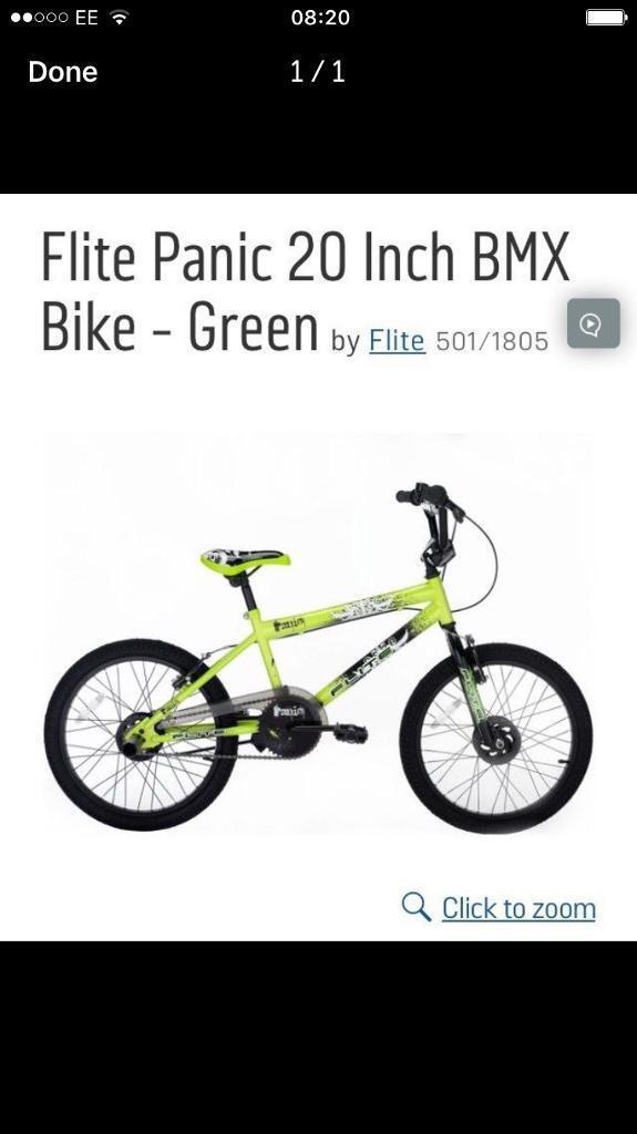 "Brand new 20"" bmx"