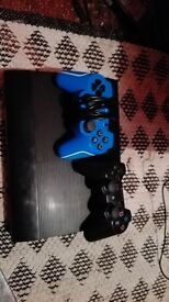 ps3 slim ,2 controller and games
