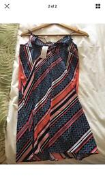 Abercrombie & Fitch size XS multi coloured dress