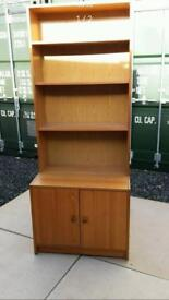2 bookcases with cupboards