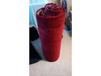 Carpet Offcut - Red 67cm x 4m approx