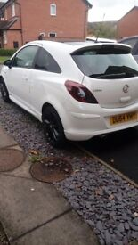 Vauxhall corsa. White. 1.2 limited edition. Low mileage. Great car!