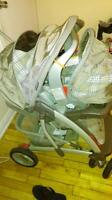 strollers and car seats