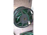 2 x garden hose pipes
