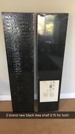 Brand new ikea lack shelf black