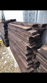 6x1 timber treated £2 each BARGAIN