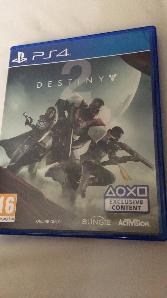 Destiny 2 PS4 like new condition