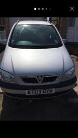 Two cars for sale Vauxhall zafira Renault Megan
