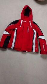 Ski Jacket aged 12. Advanced Junior ski jacket by Wed`ze Mid carve.