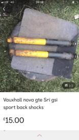 Vauxhall nova struts
