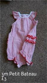 Gorgeous red romper 0-3m
