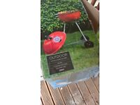 kettle charcoal bbq by tesco outdoor new in box