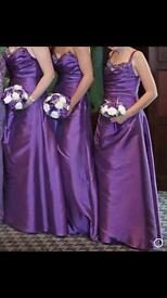 Bridesmaid dresses & bouquets