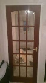 15 pain mahogany doors