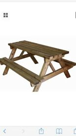 Maximum treated picnic table great sale on !!!