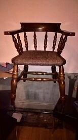 retro Captain arm chair