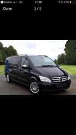 Mercedes viano 2.2 extra long wheel base and auto side doors