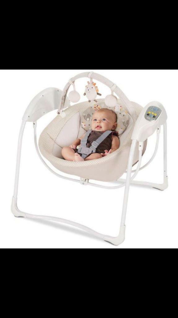 Graco baby swing (perfect condition)